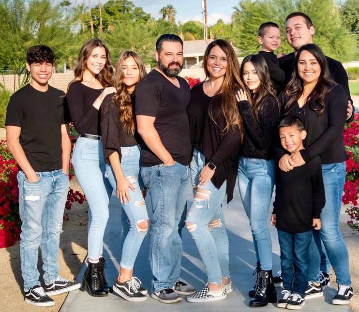 Jenna Ortega family