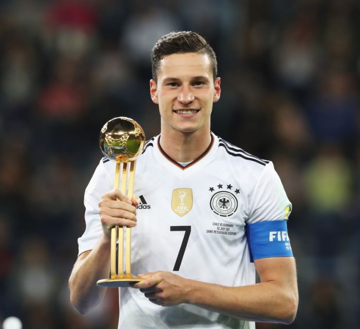 Julian Draxler awards