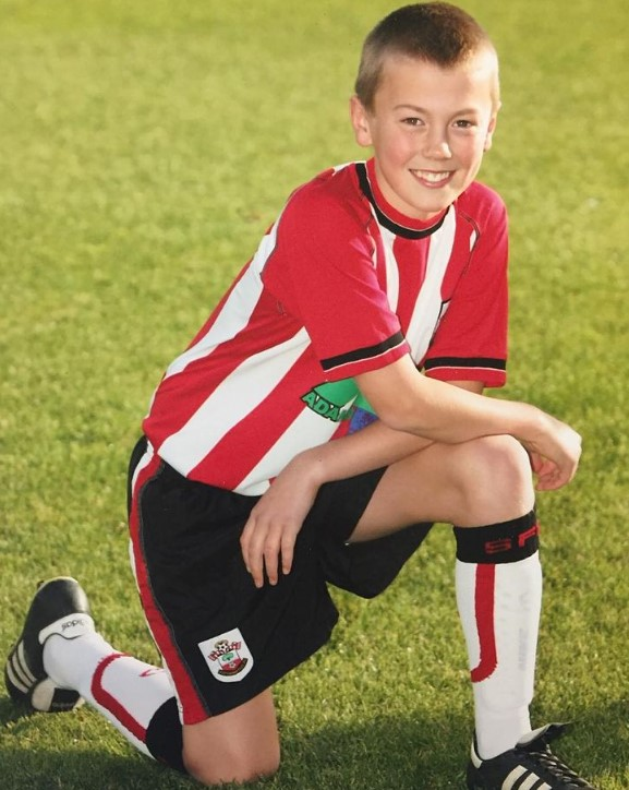 James Ward-Prowse young