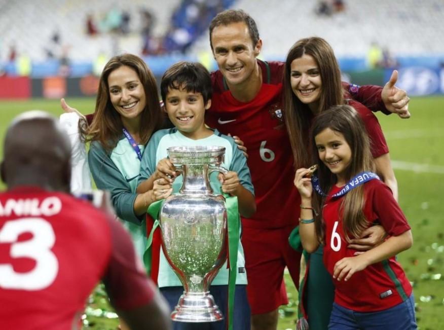 Ricardo Carvalho family
