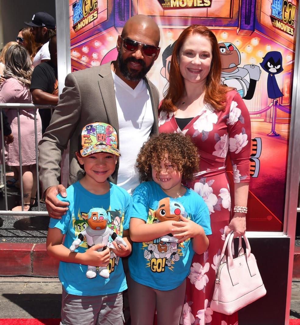 Khary Payton family