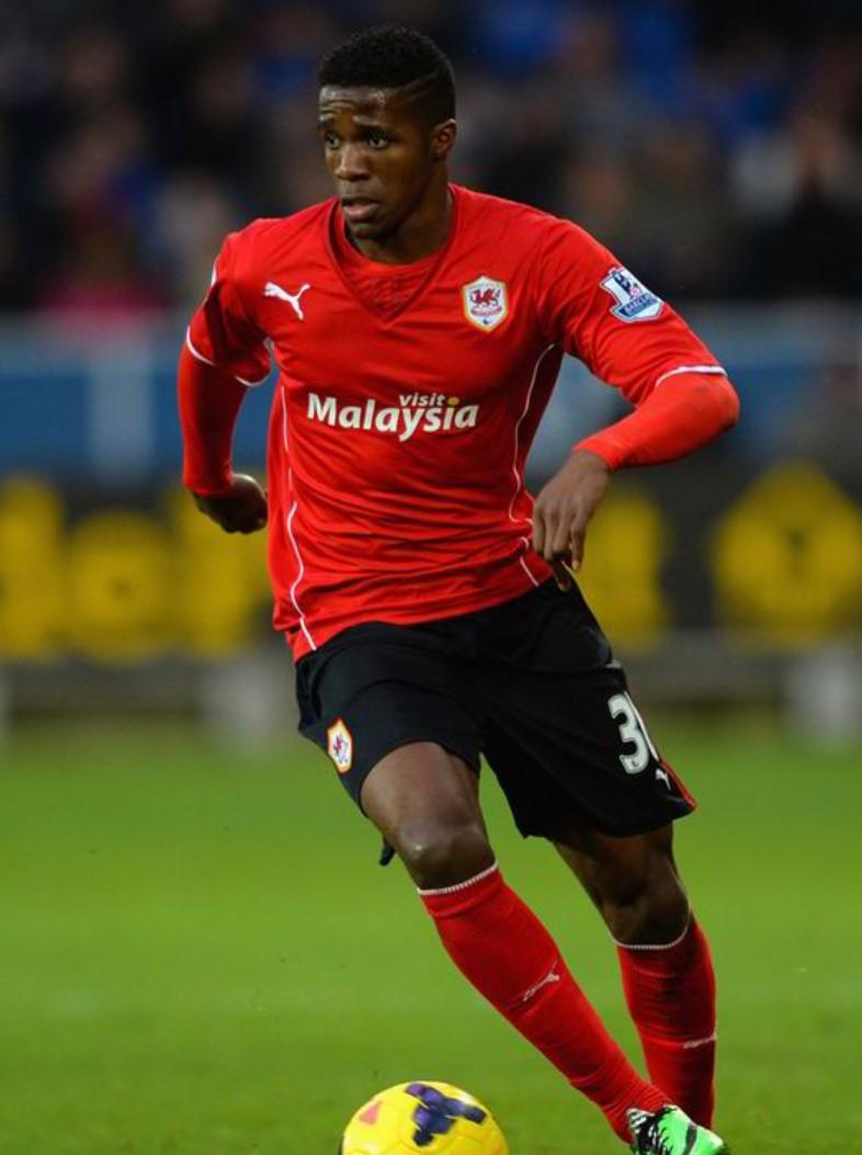 Wilfried Zaha Cardiff City