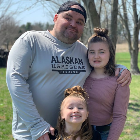 Gary Shirley with his wife, Kristina and thier daughter, Emilee