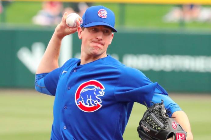 Baseball Pitcher, Kyle Hendricks