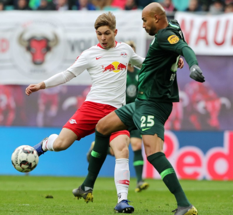 Smith Rowe RB Leipzig