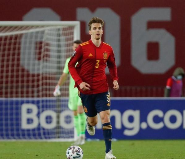 Diego Llorente Belgium