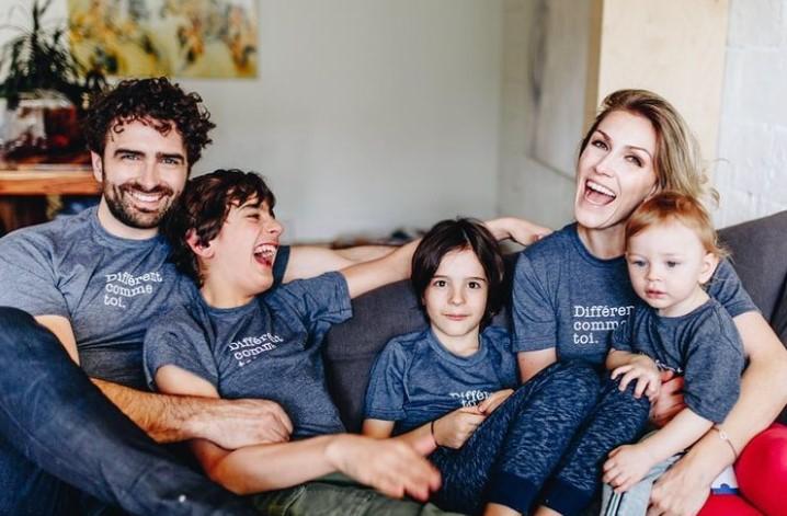 Ingrid Falaise family