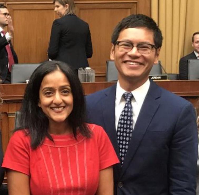 Vanita Gupta husband