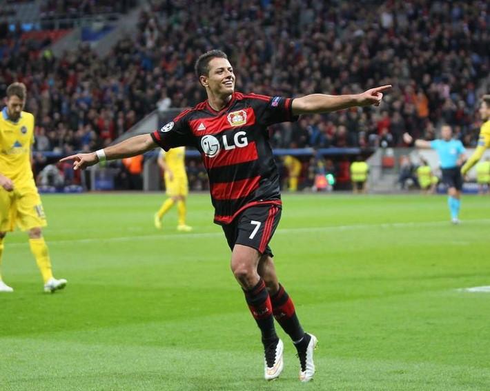 Javier Hernandez Leverkusen