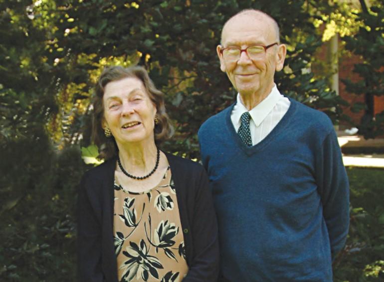 Anne McLaren husband