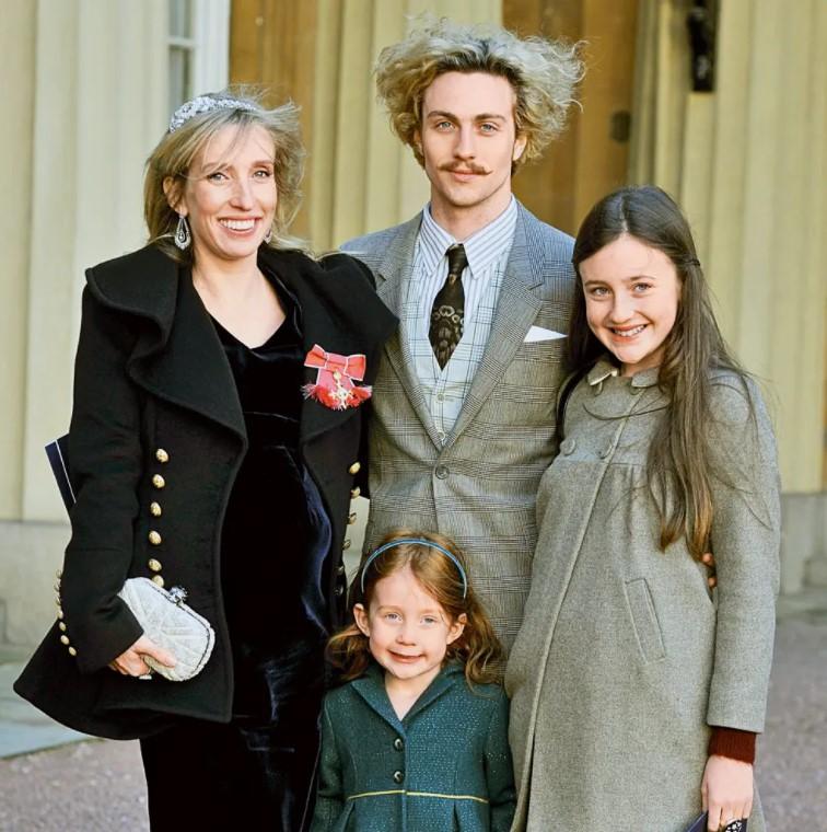 Aaron Taylor-Johnson family