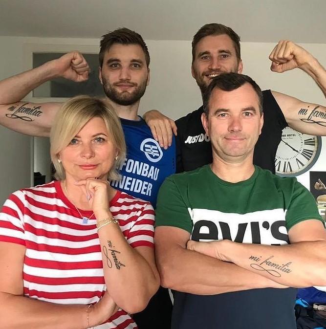 Kacper Przybyłko family