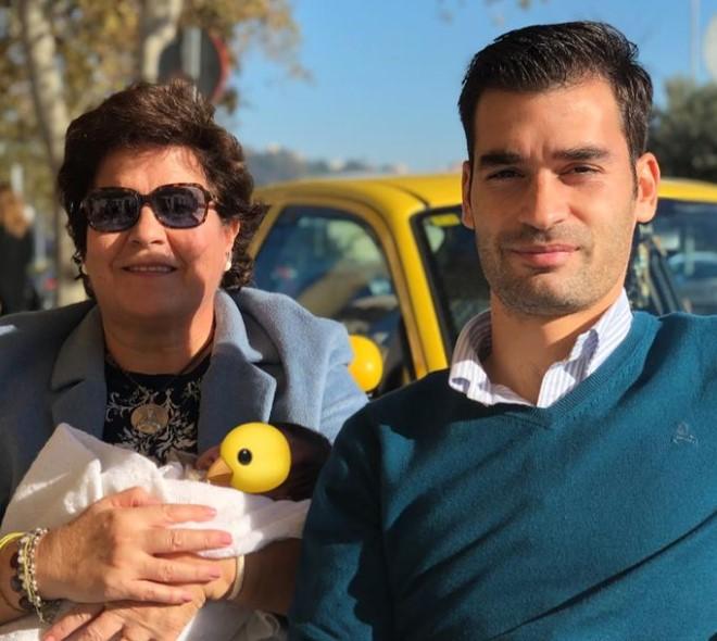 Manu Trigueros mother