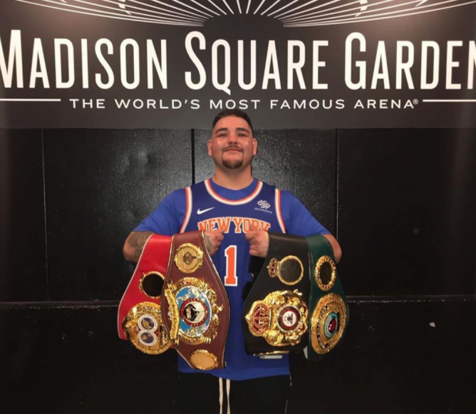 Professional Boxer, Andy Ruiz Jr.
