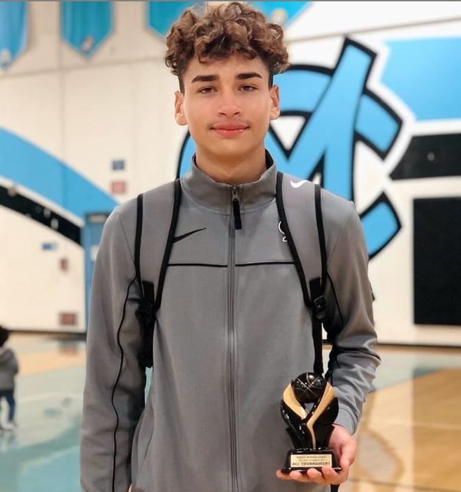 Jaydyn Price basketball