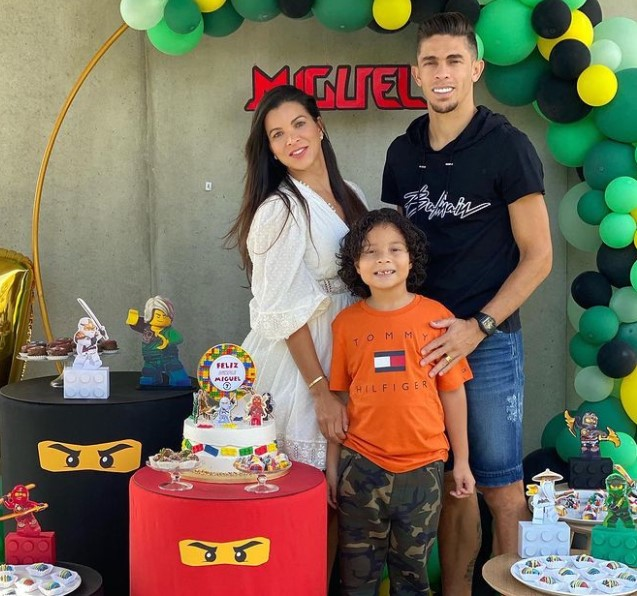 Gabriel Paulista family
