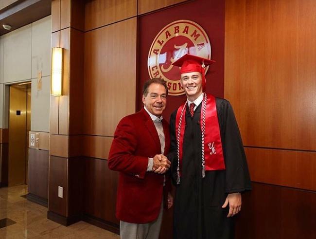 Mac Jones graduated from University of Alabama
