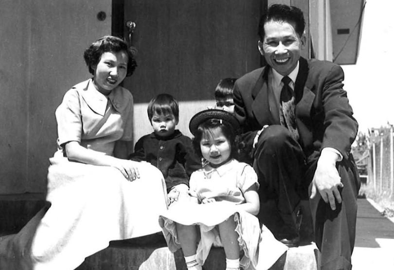 Amy Tan family