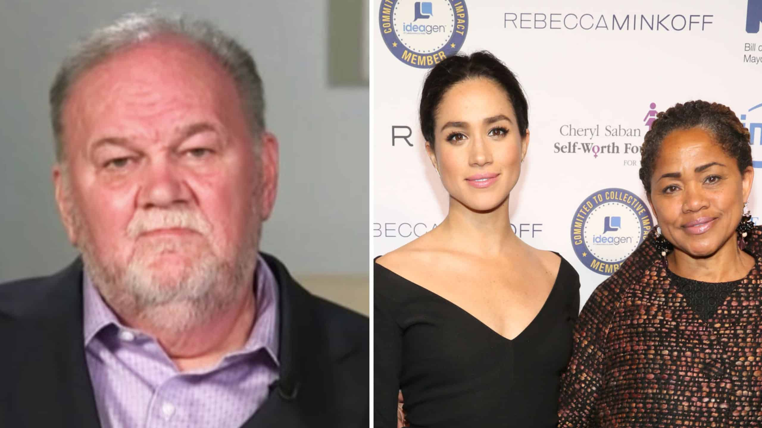 Doria Ragland with her husband, Thomas Markle and daughter, Meghan