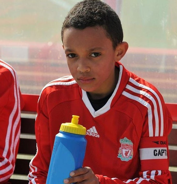 Trent Alexander-Arnold young