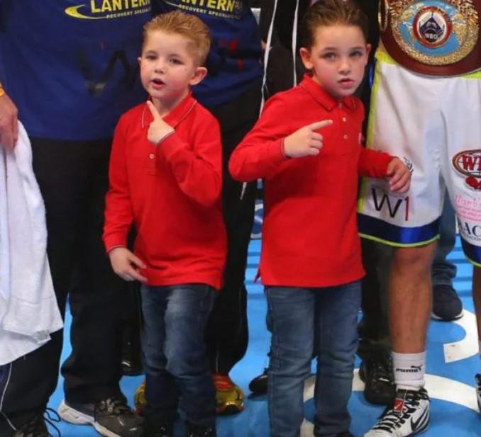 Billy Joe Saunders sons