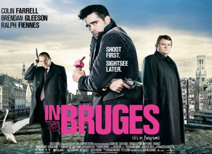 Colin Farrell made the lead character in the critically acclaimed movie, In Bruges