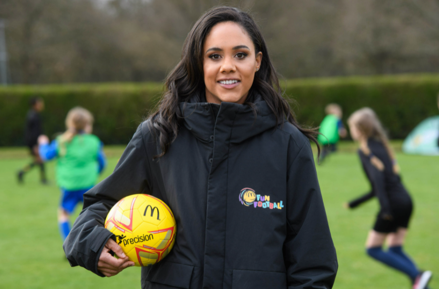 Alex Scott was inducted into the English Football Hall of Fame in 2019