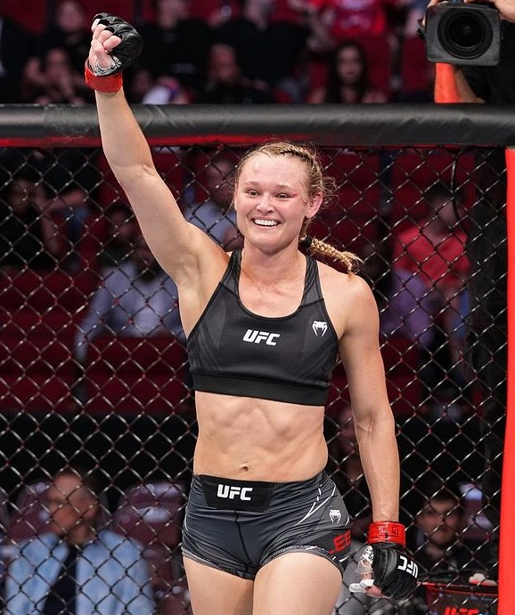 Andrea Lee fighter