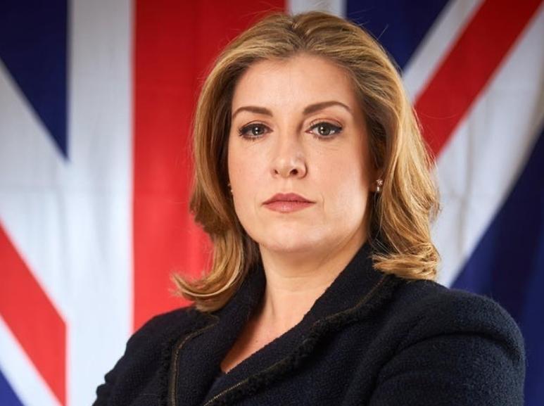 British Politician, Penny Mordaunt