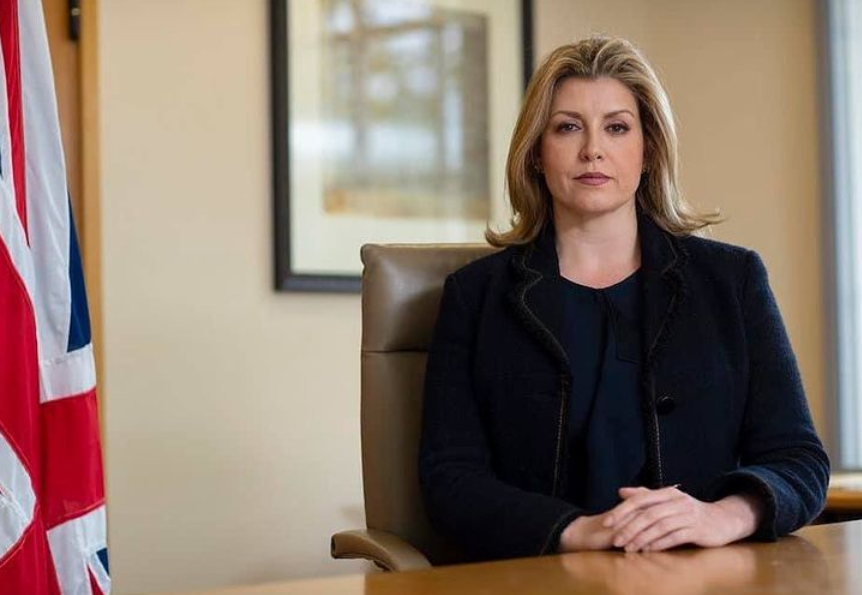 Penny Mordaunt is a Conservative Party