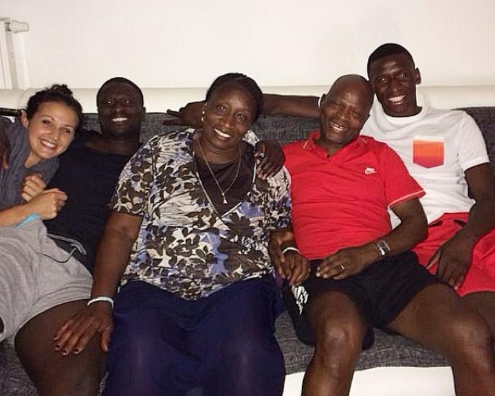 Antonio Rudiger family