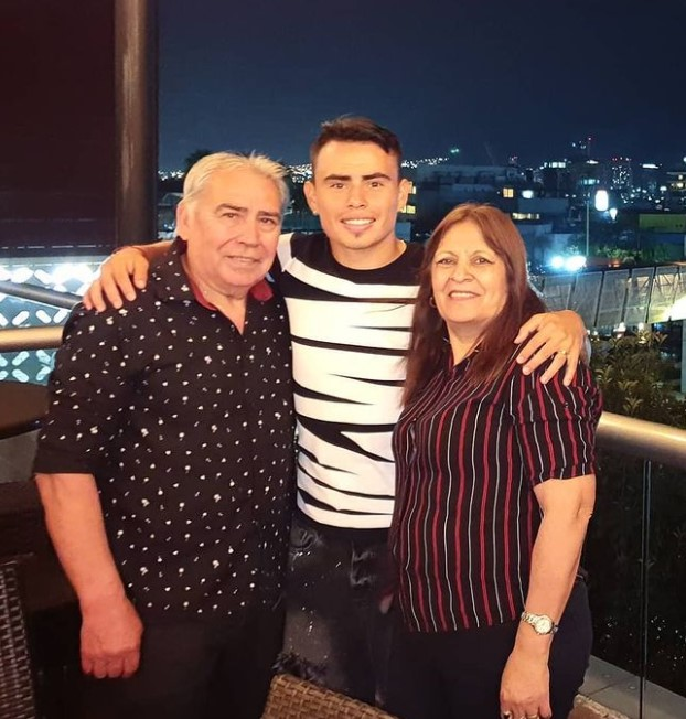 Lucas Zelarayan parents