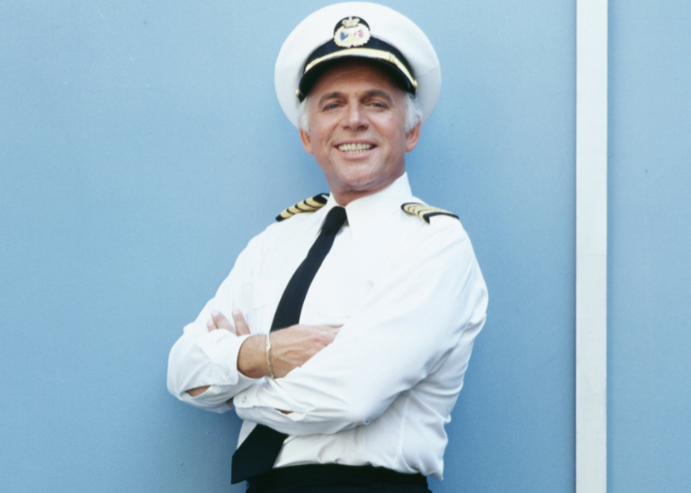 Gavin MacLeod became the global ambassador for Princess Cruises in 1986