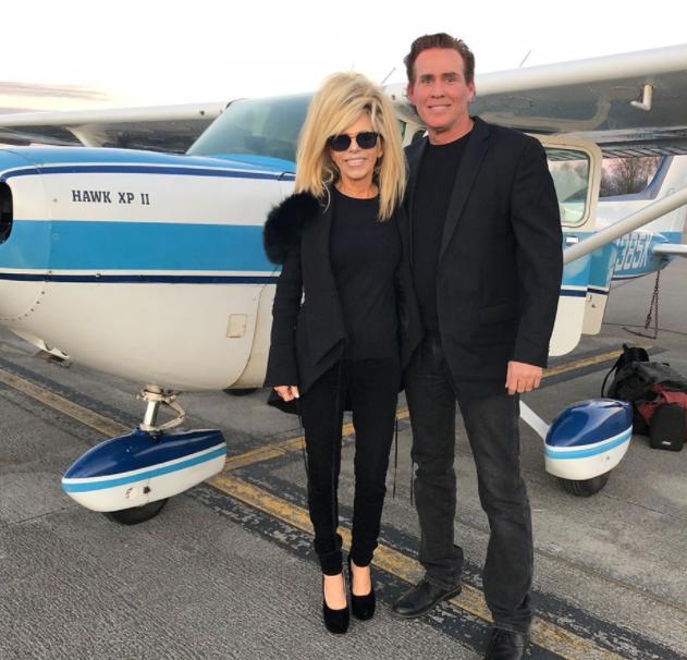 Joe Lara and his wife, Gwen Shamblin