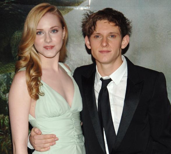 Jamie Bell and his ex-wife, Evan Rachel Wood