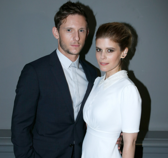 Jamie Bell and his wife, Kate Mara