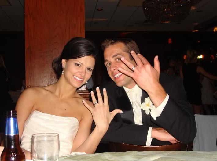 Brad Fiorenza and his ex-wife, Tori Hall