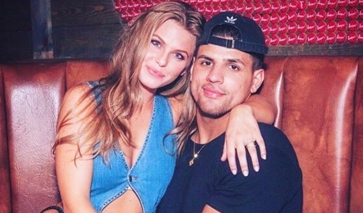 Faysal Shafaat and his ex-girlfriend, Haleigh Broucher