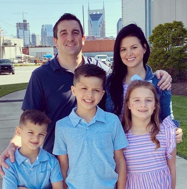 Tori Hall family
