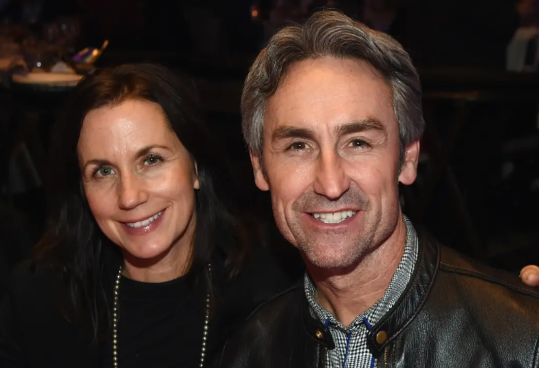 Mike Wolfe and his wife, Jodi Faeth