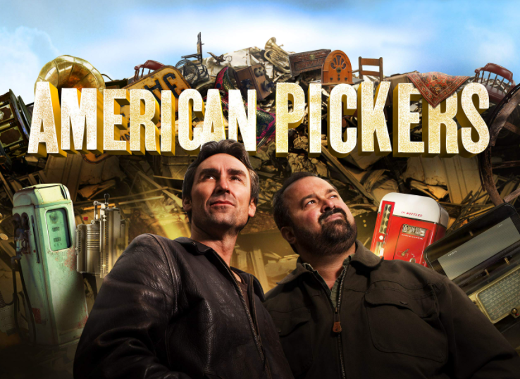 Mike Wolfe & Frank Fritz in 'American Pickers'