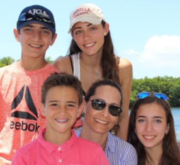 Mark Bezos and Lisa Rogers's children