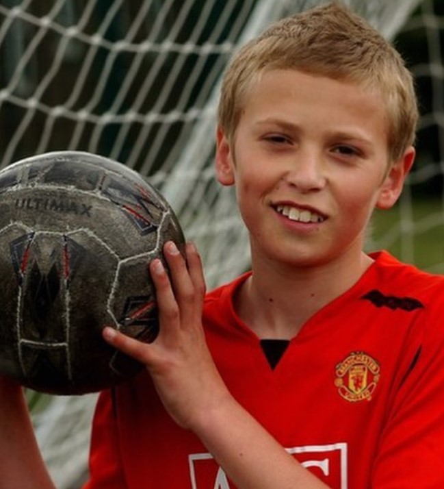 James Wilson Manchester United