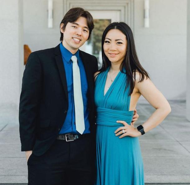 Jona Xiao and her partner, Michael