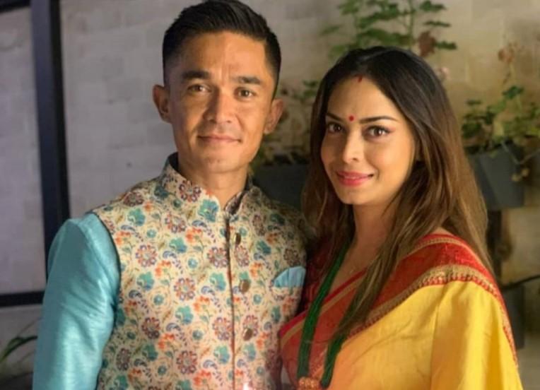 Sunil Chhetri wife