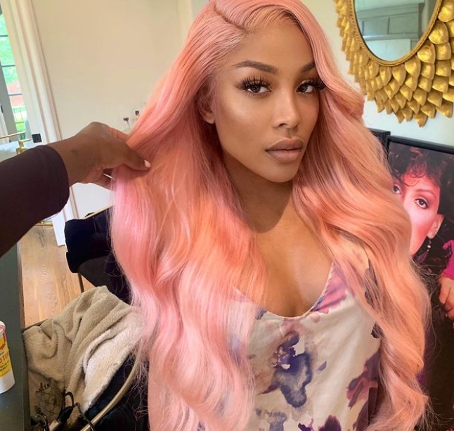 Today you can call me Pinky💕 thanks @slaidit for flying out to me💗