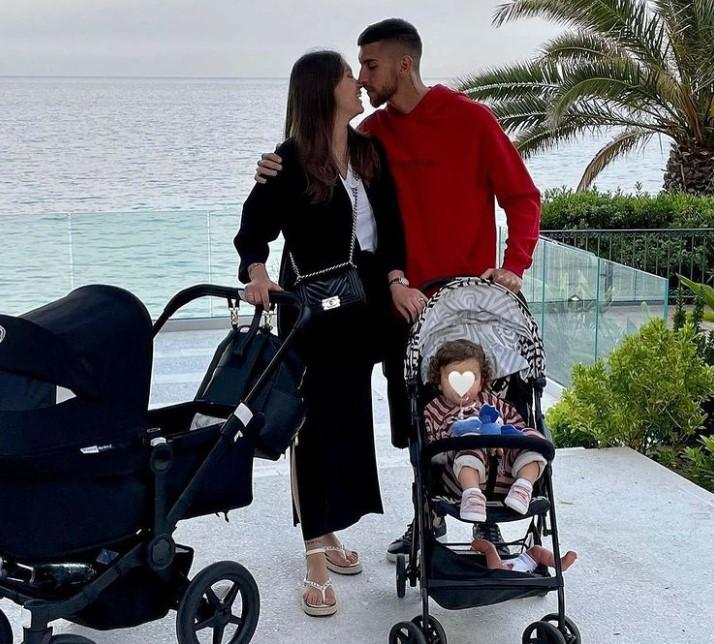 Lorenzo Pelligrini family