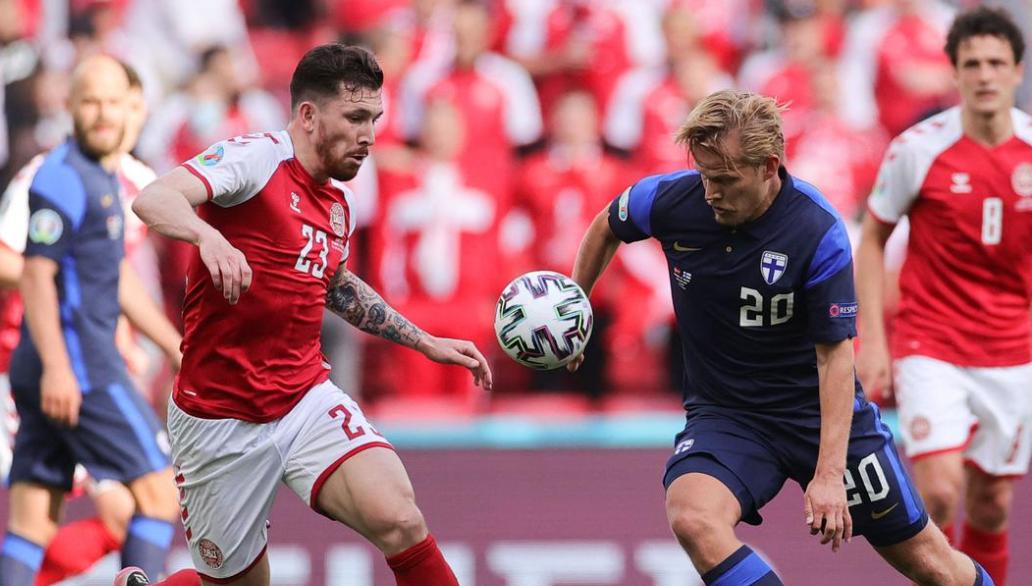 Joel Pohjanpalo helps Finland snatch win over Denmark