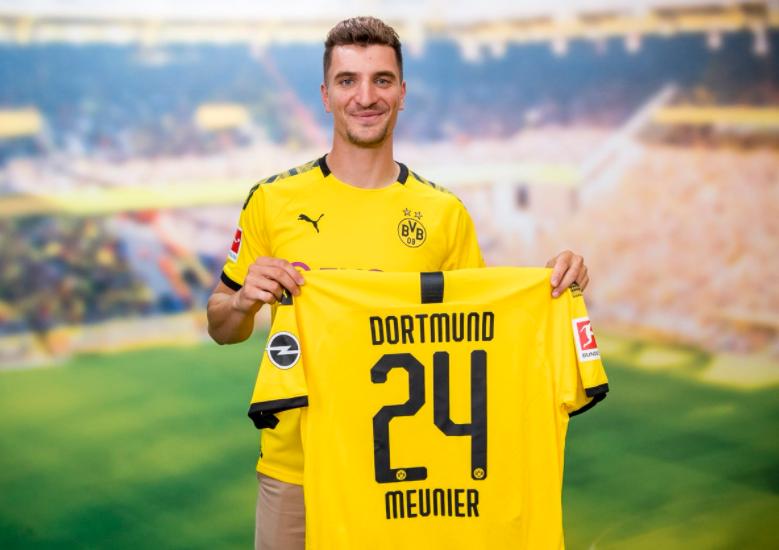 Thomas Meunier, player for Borussia Dortmund