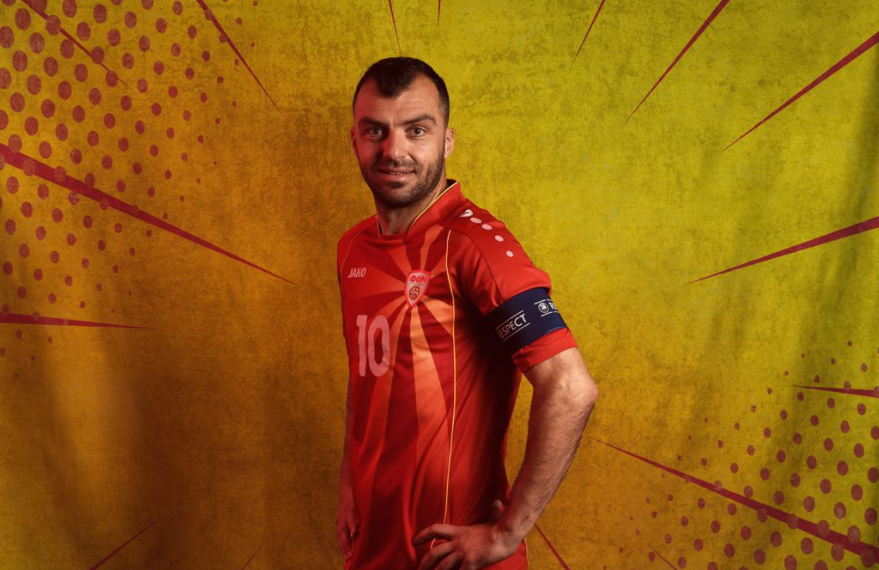 Professional Footballer, Goran Pandev